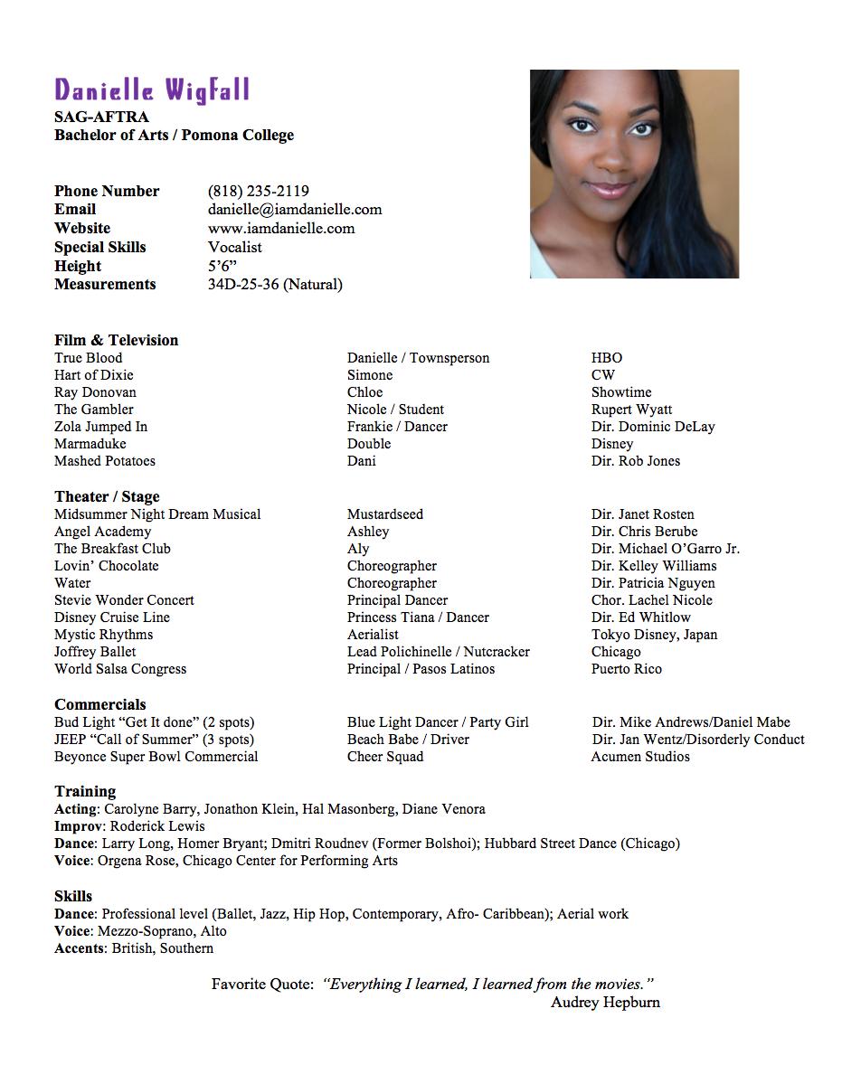Danielle-Wigfall-Resume